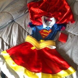 Super girl/DC Super Hero girls Halloween costume